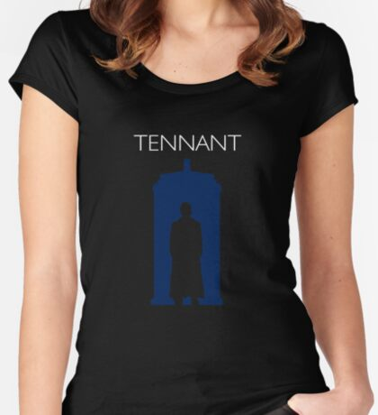 The Tenth Doctor Women's Fitted Scoop T-Shirt