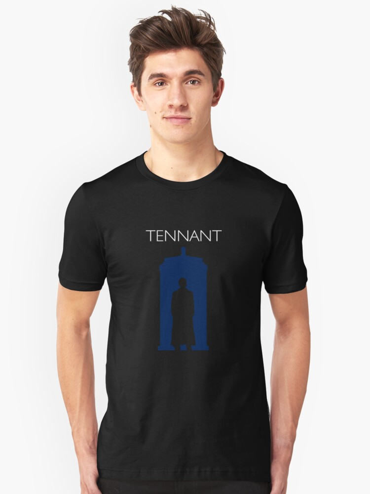 The Tenth Doctor Unisex T-Shirt Front