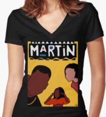 Martin (Gelb) Shirt mit V-Ausschnitt