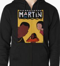 Martin (Yellow) Zipped Hoodie