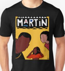 Martin (Gelb) Slim Fit T-Shirt