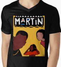 Martin (Yellow) Men's V-Neck T-Shirt