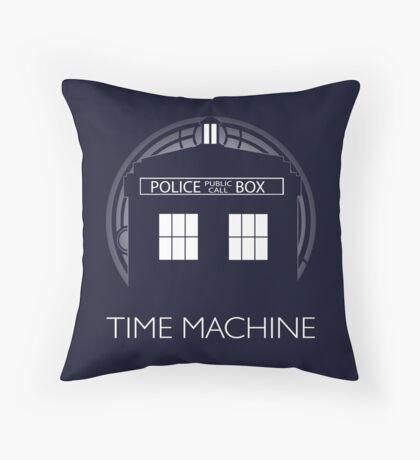 TIME MACHINE Throw Pillow