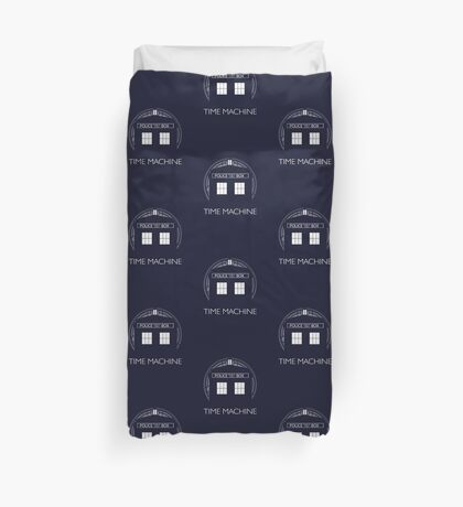 TIME MACHINE Duvet Cover