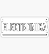 Electronica Sticker