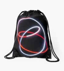 Meet in the middle Drawstring Bag