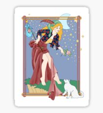 Tarot Fool Sticker