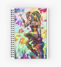 Rainbow mists Spiral Notebook