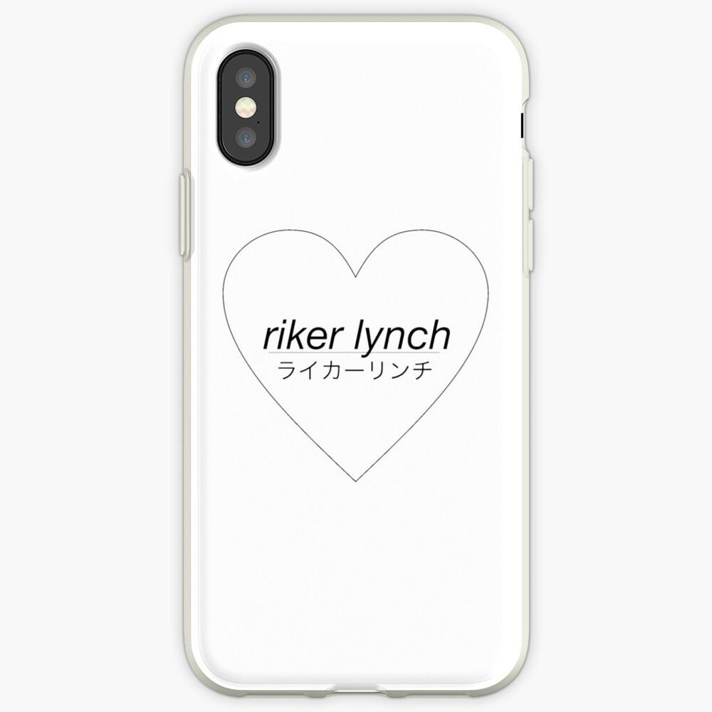 Riker Lynch Liebesherz iPhone-Hülle & Cover
