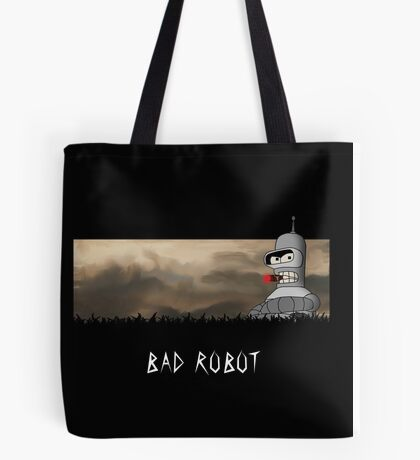 BAD ROBOT Tote Bag