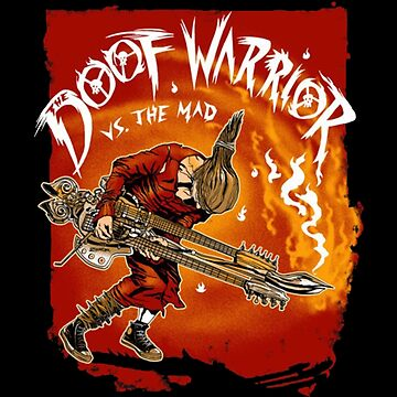 Guitar Warrior Vs The Mad by Irrational-Art
