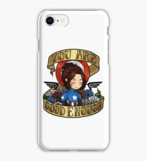 2016 bucky says believe in yourself iPhone Case/Skin