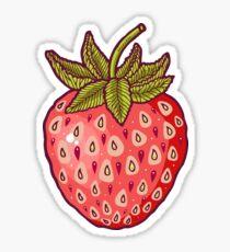 Erdbeerfelder Sticker