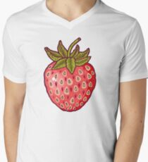 strawberry fields Men's V-Neck T-Shirt