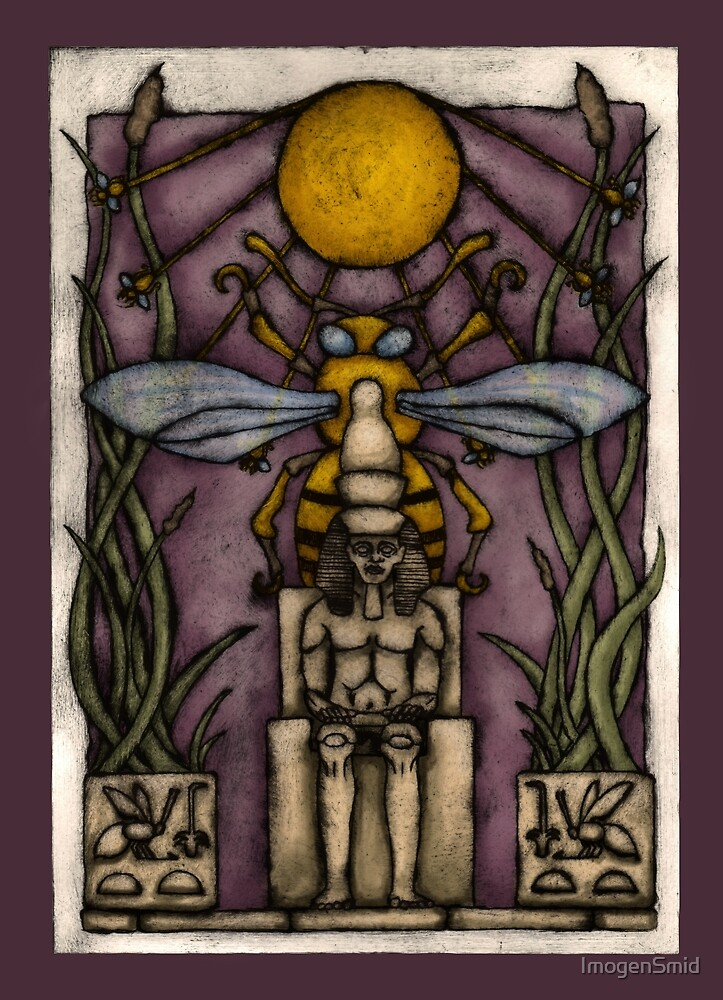 Nesu Bity: He of the Sedge and the Bee by ImogenSmid