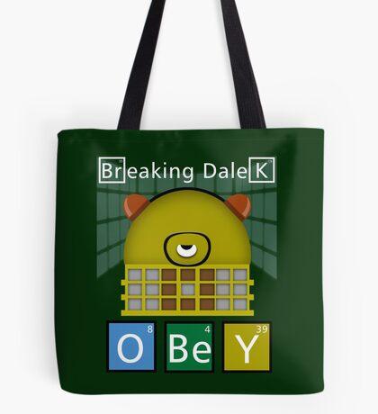 Breaking Dalek Tote Bag