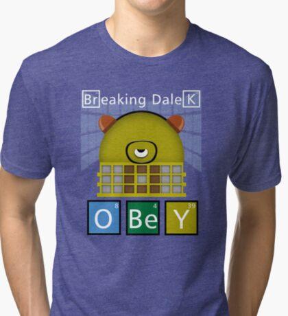 Breaking Dalek Tri-blend T-Shirt