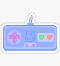 Cute bunny controller Sticker