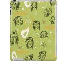 Shrunken Heads Retro Pattern iPad Case/Skin