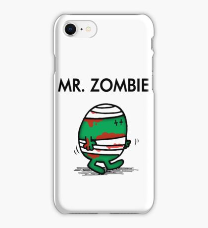 MR. ZOMBIE iPhone Case/Skin