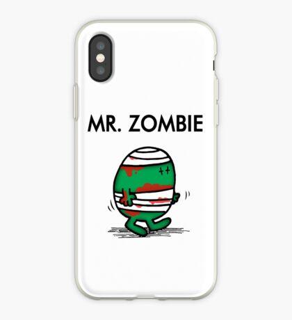 MR. ZOMBIE iPhone Case