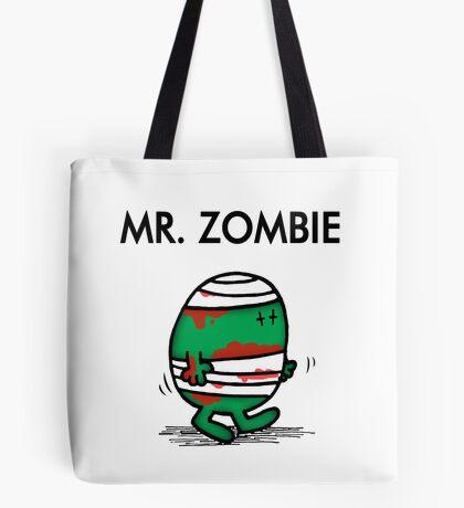 MR. ZOMBIE Tote Bag