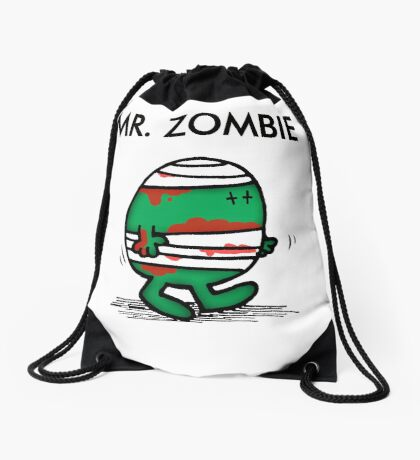MR. ZOMBIE Drawstring Bag