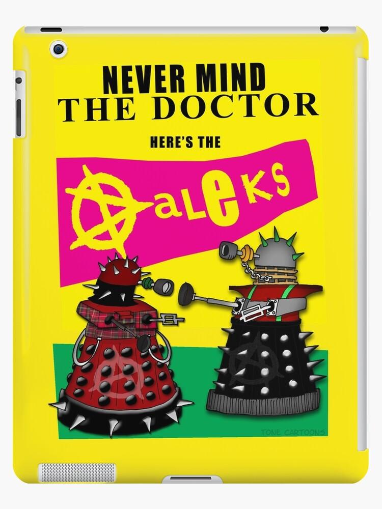 The Punk Daleks  by ToneCartoons