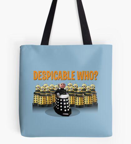 DESPICABLE WHO? Tote Bag