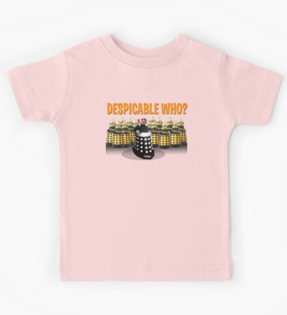 DESPICABLE WHO? Kids Clothes