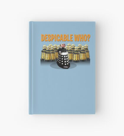 DESPICABLE WHO? Hardcover Journal