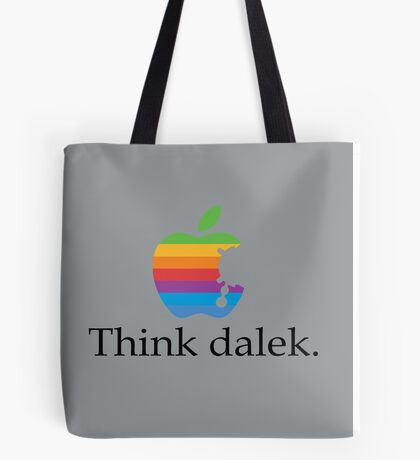 Think even more dalek Tote Bag