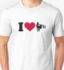 I love Motocross Unisex T-Shirt