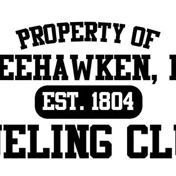 Property of Weehawken NJ Dueling Club by JoshuaFraustro