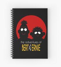 The adventures of bert & ernie Spiral Notebook