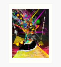 Kemetic Energy Art Print