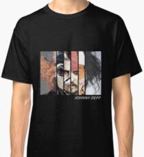 Johnny Depp Characters Classic T-Shirt