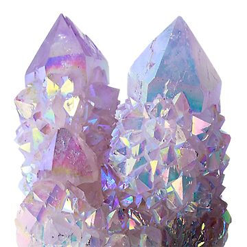 Purple Crystals by cheyannekailey