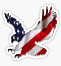 Eagle Flag v.3 Sticker