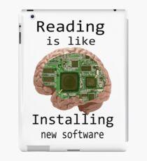 Reading is like............... iPad Case/Skin