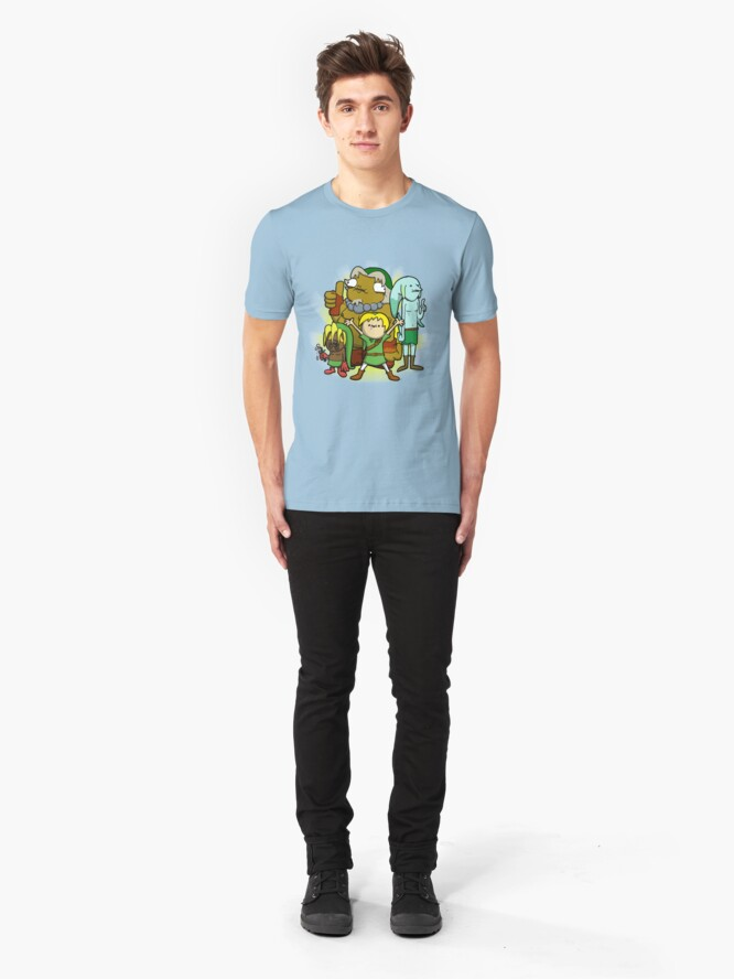 Alternate view of The kid behind the masks Slim Fit T-Shirt