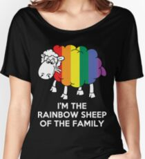 I'm The Rainbow Sheep Of The Family T-Shirt Women's Relaxed Fit T-Shirt