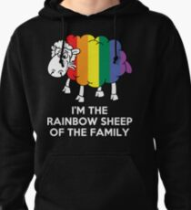 I'm The Rainbow Sheep Of The Family Pullover Hoodie