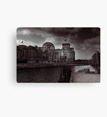 berlin, reichstag Canvas Print