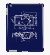 Vintage Photography: Nikon Blueprint iPad Case/Skin