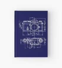 Vintage Photography: Nikon Blueprint Hardcover Journal