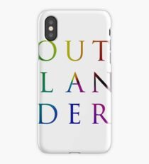 Colorful Outlander iPhone Case