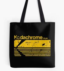Vintage Photography: Kodak Kodachrome - Yellow Tote Bag