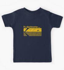 Vintage Photography: Kodak Kodachrome - Yellow Kids Tee