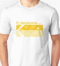 Vintage Photography: Kodak Kodachrome - Yellow T-Shirt